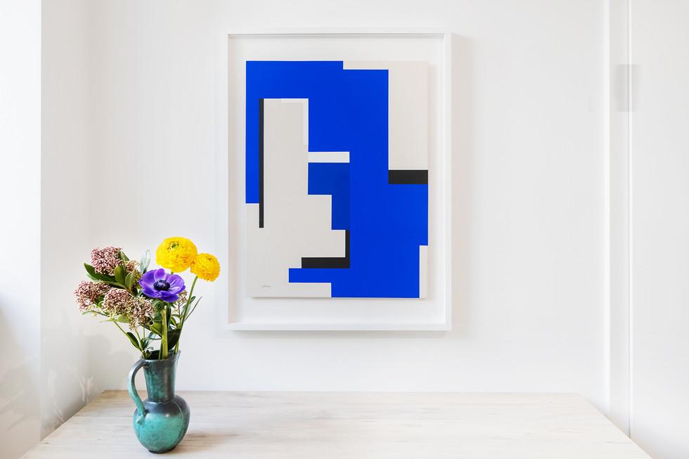Serie Kanaga 2019 Acryl auf Karton 65 x 50 cm