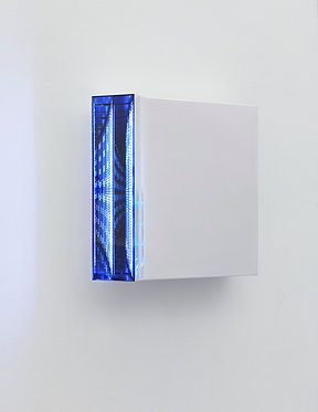"""Hans Kotter: """"Light Code (weiß)"""""""