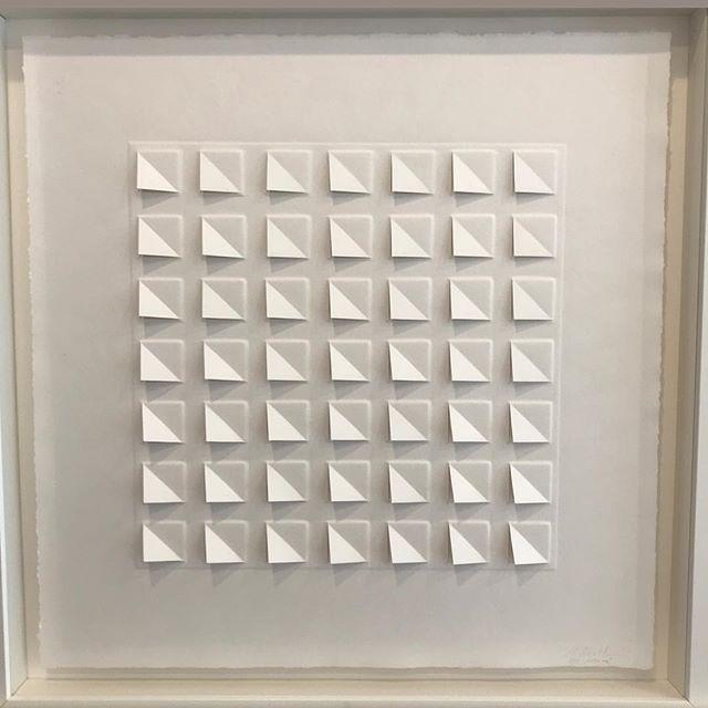 Ralph Kerstner Wake Up 2016 Prägung in Büttenpapier 50 x 50 cm