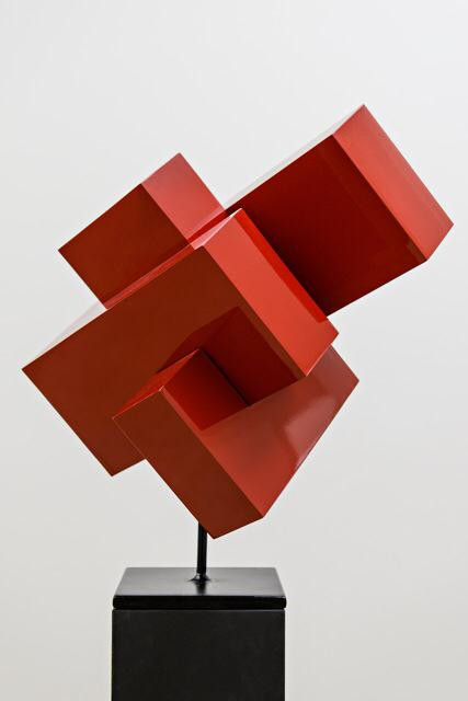Ralph Kerstner Monza 2015 Stahlskulptur 60 x 50 x 60 cm