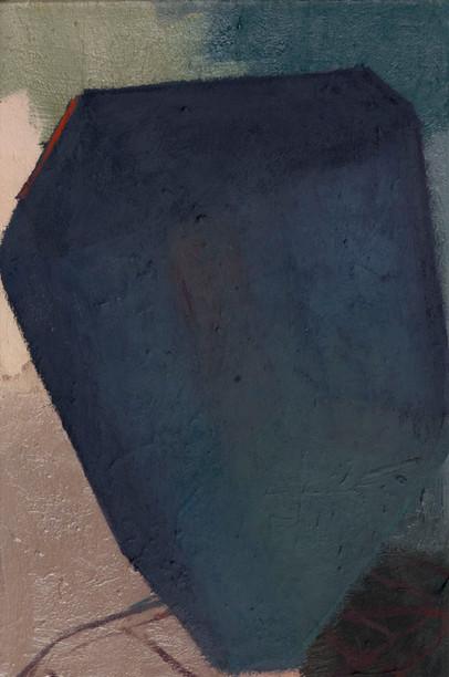 Jewel carumene 2019 Eitempera, Öl und Pigmente auf Leinwand 36 x 24 cm cm