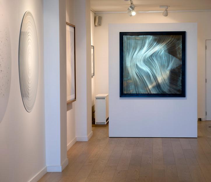 Ausstellungsansicht John Franzen in Lüttich bei Yoko Uhoda