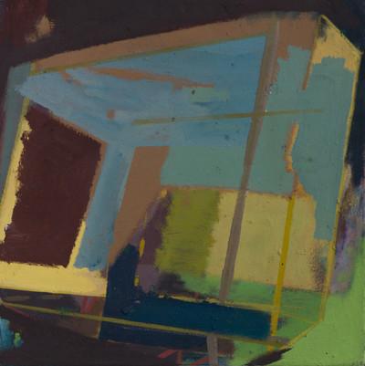 Pentugit 2019 Eitempera, Öl und Pigmente auf Leinwand 30 x 30 cm