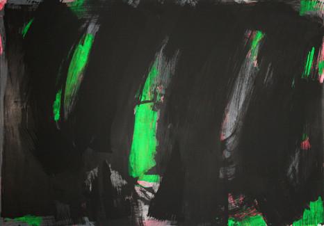 #1708 2019 Acryl auf Leinwand 100 x 140 cm