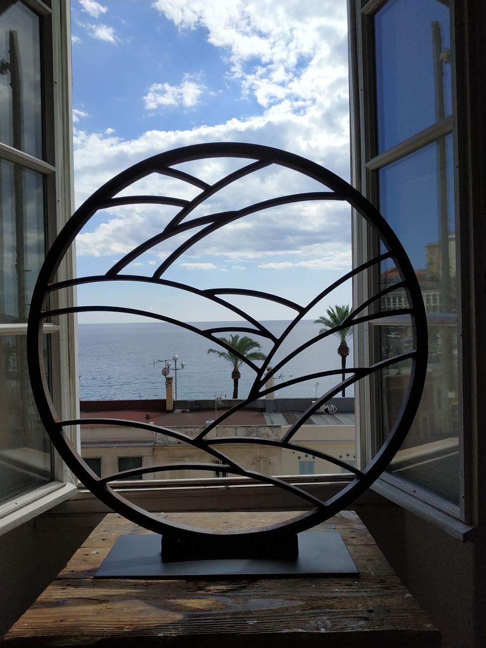 Cercle d'horizon N°1 Bronze 80 cm Durchmesser