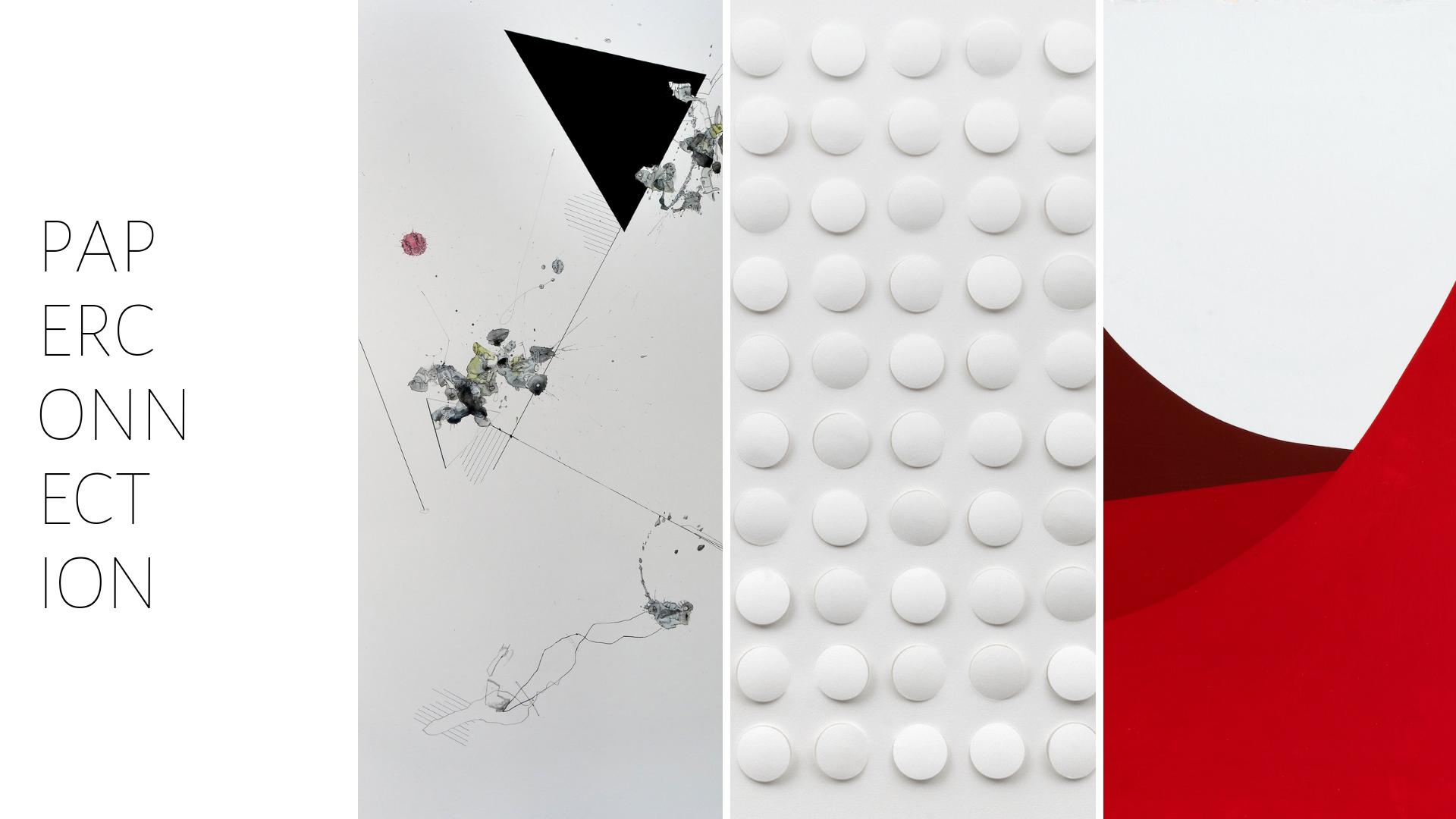 Ausstellung Paper Connection zur The Frankfurt Art Experience