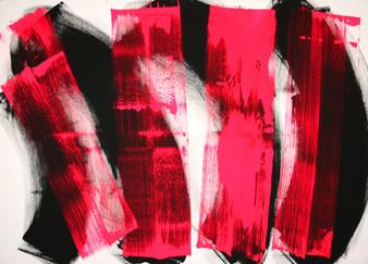 #1004 II 2017 Acryl auf Leinwand 100 x 140 cm