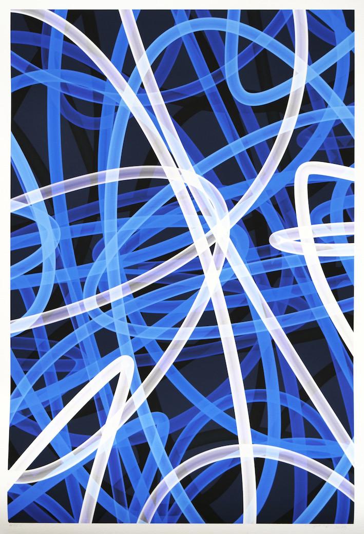 Peer Kriesel FRTZNABSTRCTN No 429 2019 Pigmentdruck auf Papier 100 x 70 cm