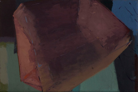 Jewel magnoxyt 2019 Eitempera, Öl und Pigmente auf Leinwand 24 x 36 cm