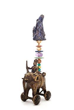 "Klaus Dupont: ""Antiker Tempelelefant"""