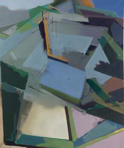 Dispar I 2018 Eitempera, Öl und Pigmente auf Leinwand 120 x 100 cm