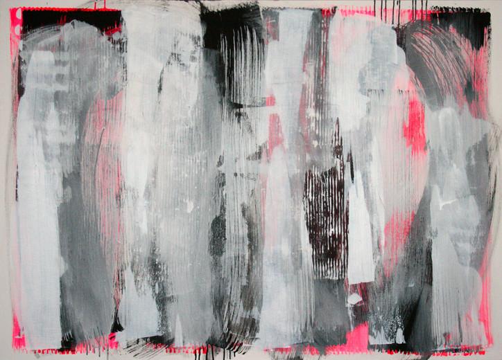#1004 2017 Acryl auf Leinwand 100 x 140 cm