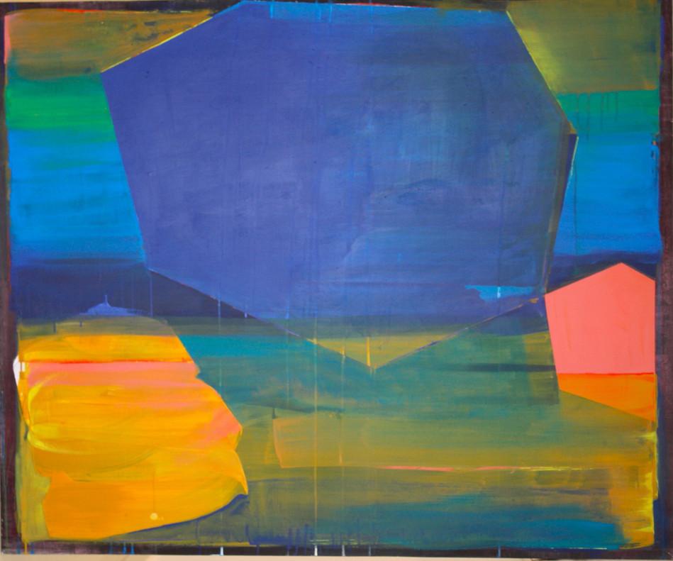 ohne Titel 2019 Acryl auf Leinwand 60 x 80 cm