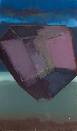 Jewel kamur 2019 Eitempera, Öl und Pigmente auf Leinwand 50 x 30 cm