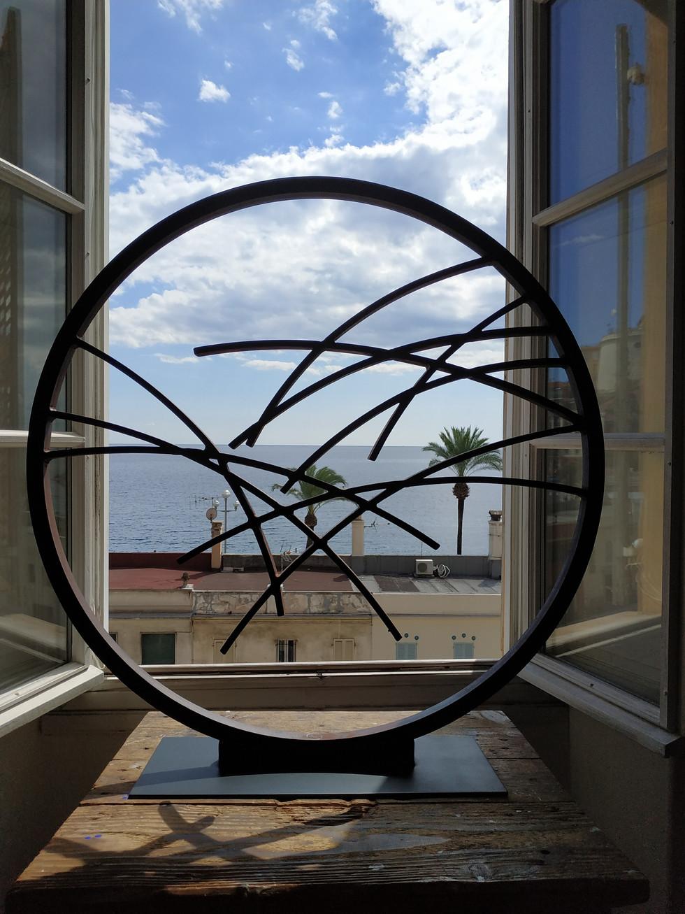 Cercle d'horizon N°2 Bronze 80 cm Durchmesser