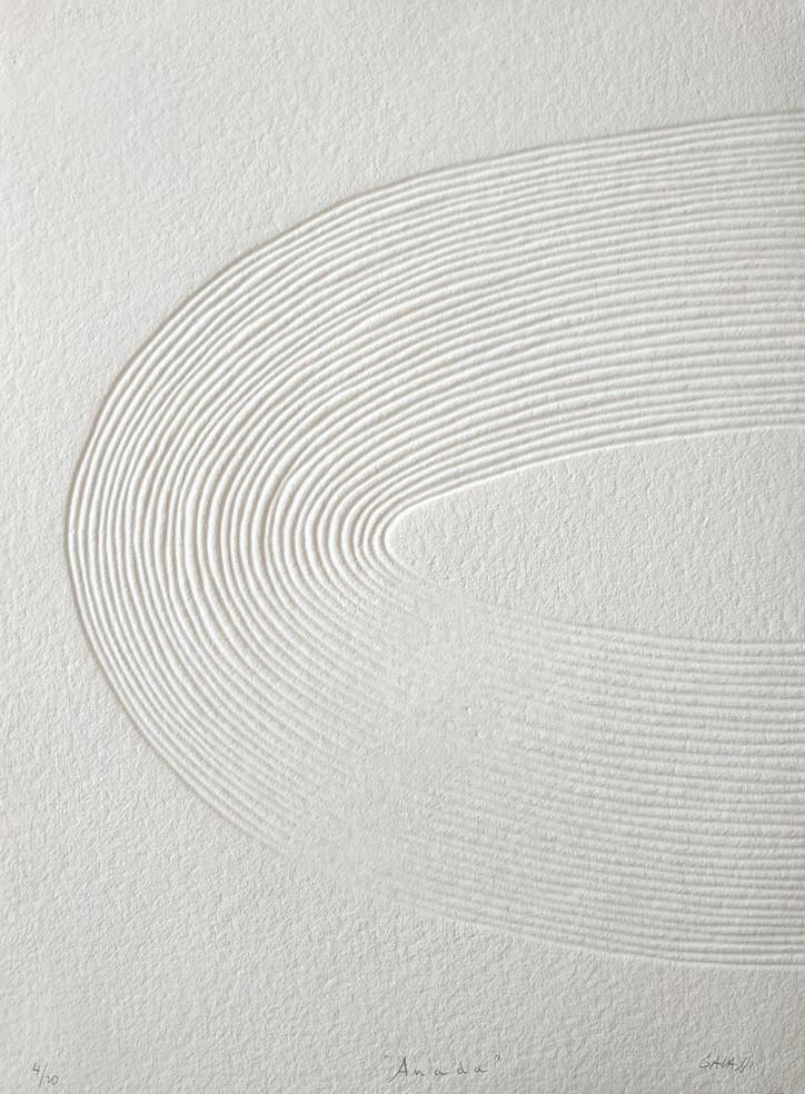 Anada, Original-Druckgrafik, 20 Ex., 77 x 56 cm, verso sign. & num.