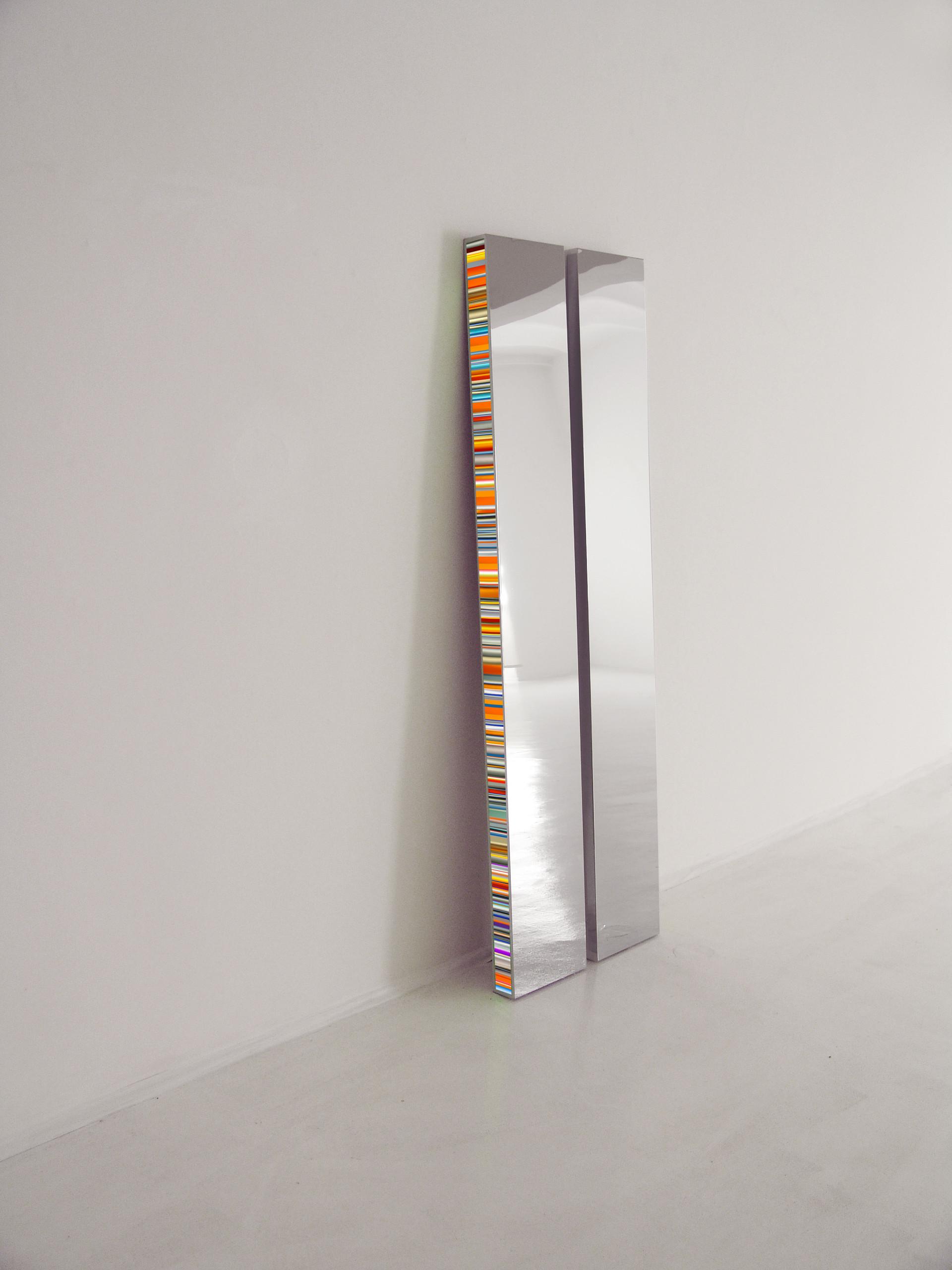 Hans Kotter_Twin_Edelstahl Plexiglas LED