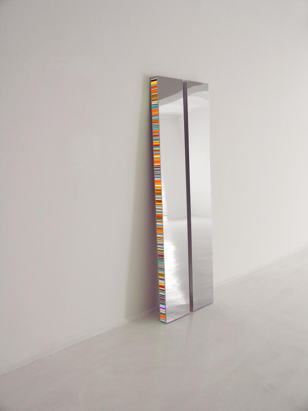 Twin Edelstahl Plexiglas LED 200 x 30 x 8 cm