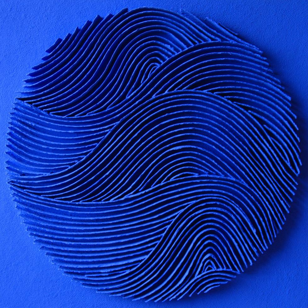 Calicot et pigments N°13 handgeschöpftes Papier, Pigmente 140 x 140 cm - verkauft