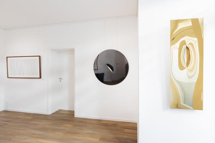 """Ausstellungsansicht """"Existence"""" Schlieder Contemporary"""