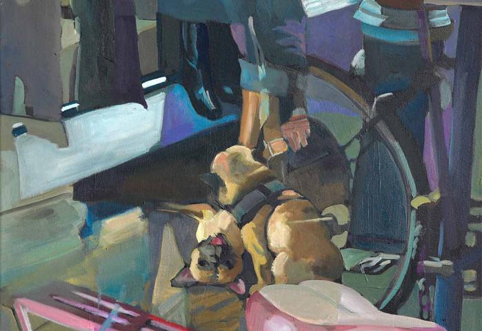 Felix Eckardt NY delight 2010 Öl auf Leinwand 70 x 50 cm