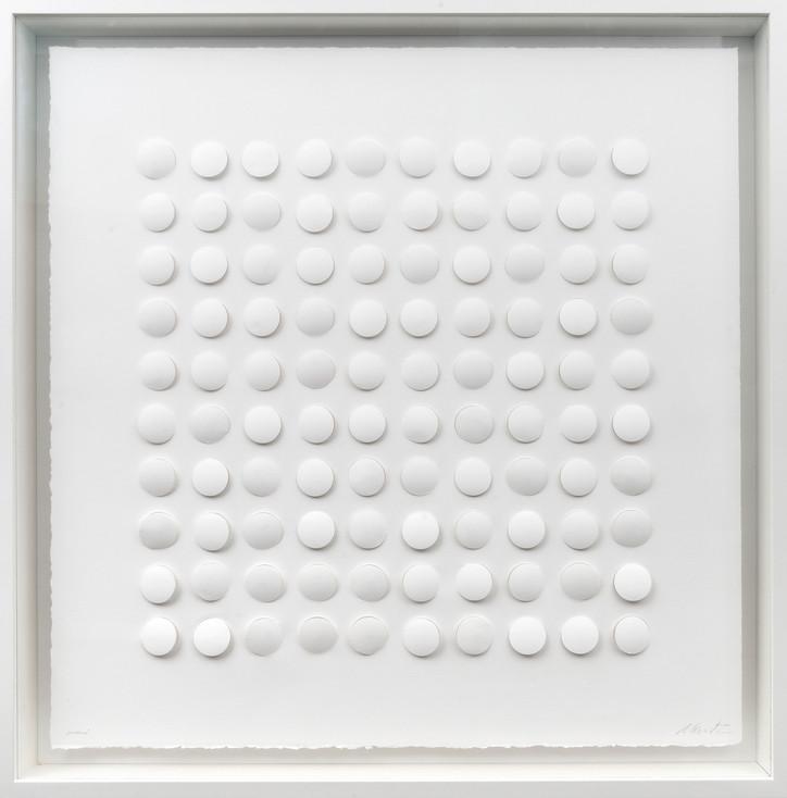 Ralph Kerstner Sundance 2019 Prägung in Büttenpapier 75 x 75 cm