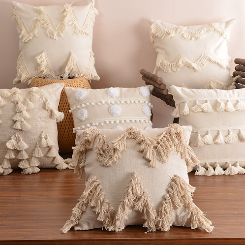 Boho Style Cushion Cover