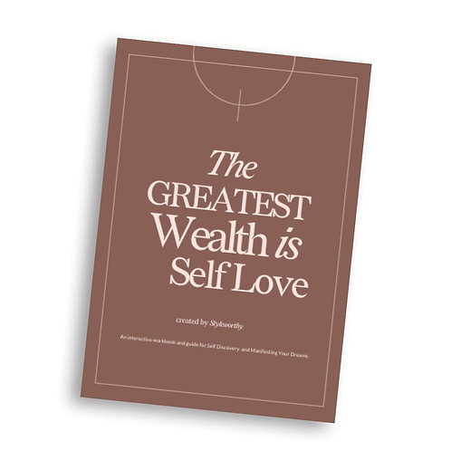 Self Love Workbook - Hardcopy