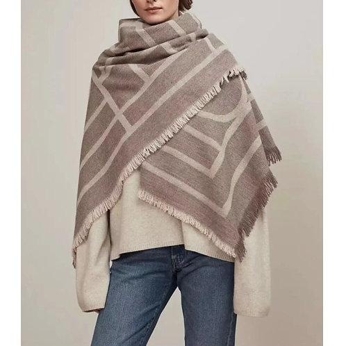 Wool Blanket Scarf