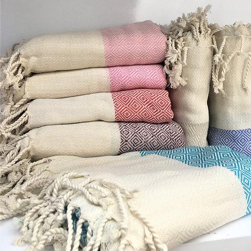 Ultra Soft Cotton Turkish  Hammam Spa Towel