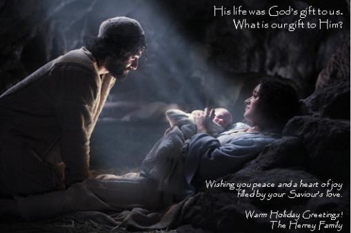 A Real Christmas Card