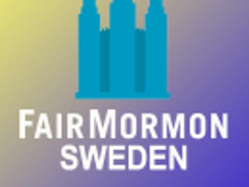 Q&A about FairMormon Conference, Sweden, 18 June