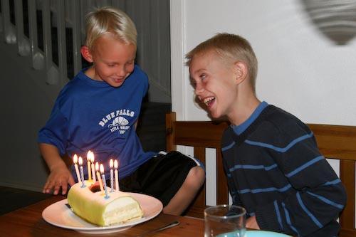 Isak 8 Years Old