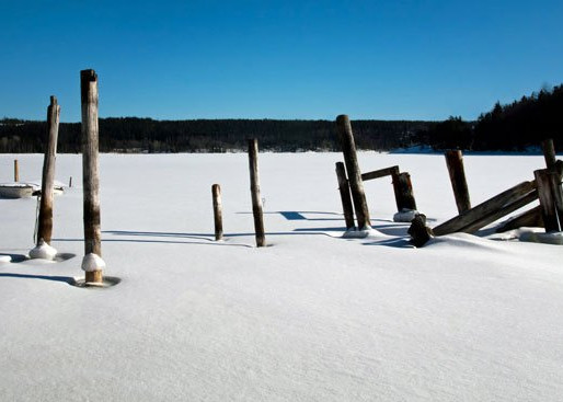 Snowy Ice