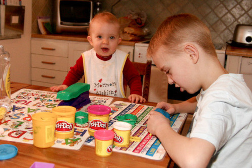 Work, Patience, and Play-Doh