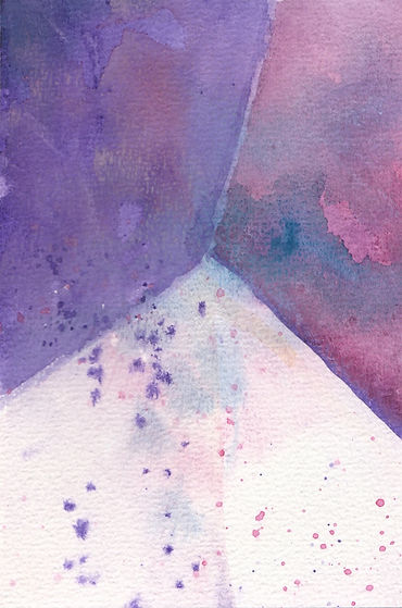 watercolor painting, watercolor, watercolour, watercolour painting, abstract painting of amethyst, amethyst stone, purple, abstract watercolour