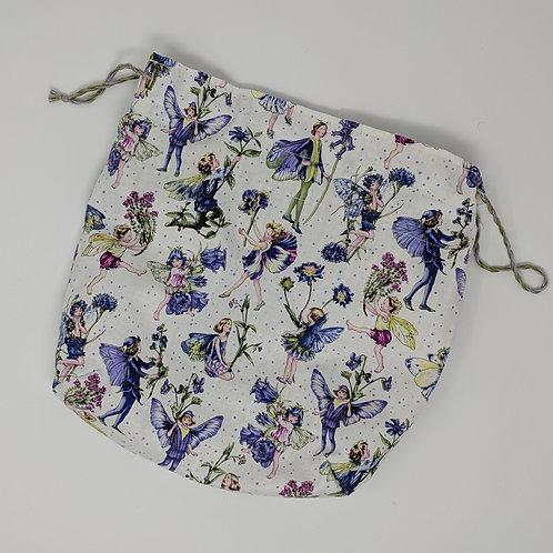 Small Project Bag Purple Fairy