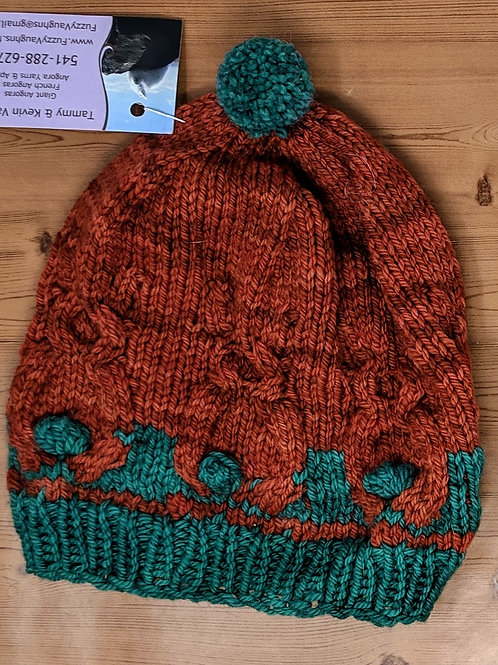 Bunny Tails Wool Hat