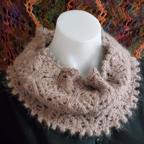 Blooming Lace Cowl Pattern Download