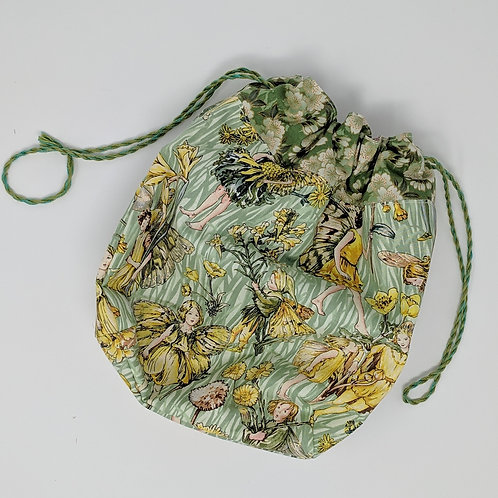 Small Project Bag Flower Fairy