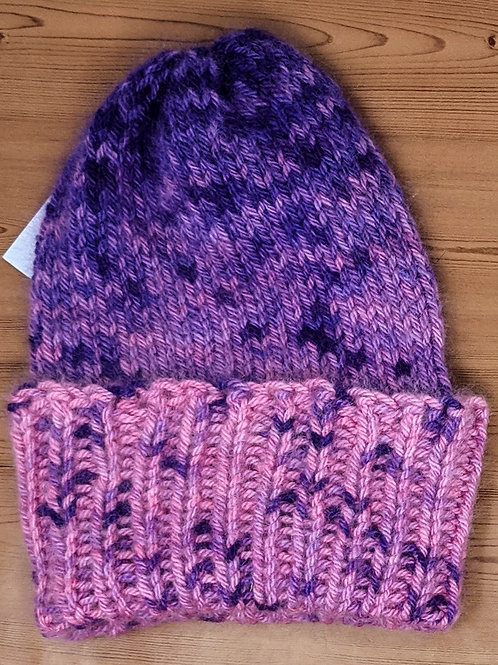 Pink to Purple Tube Hat