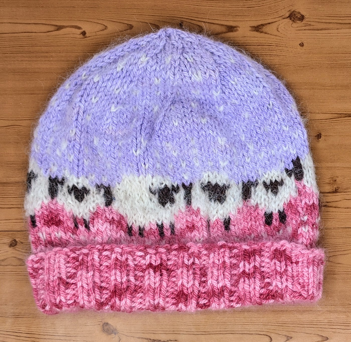 Euphoria Hat With Mohair Sheep