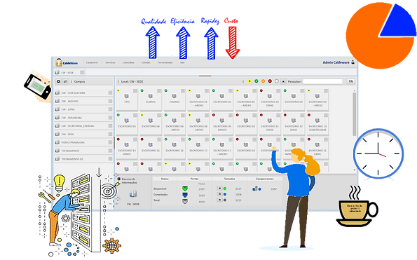 Cabling management software