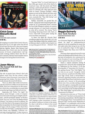 Quinerly 4 Stars in Downbeat!