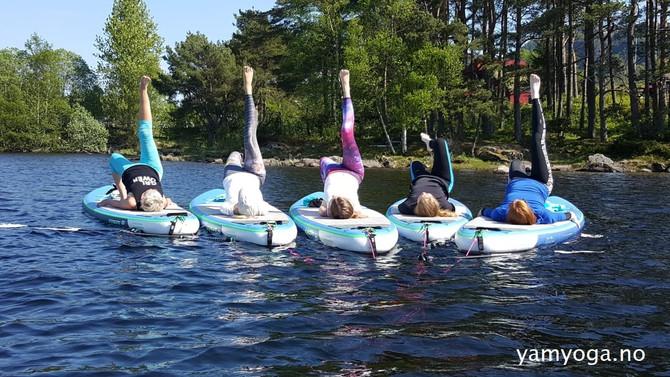 Yoga i vannelementet ♥︎