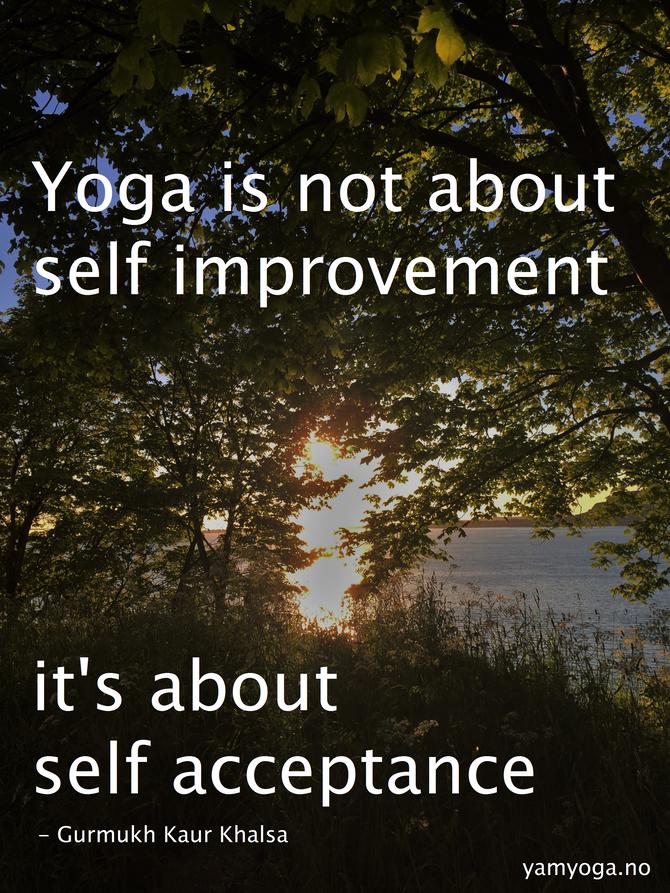 Hva Yoga ikke er