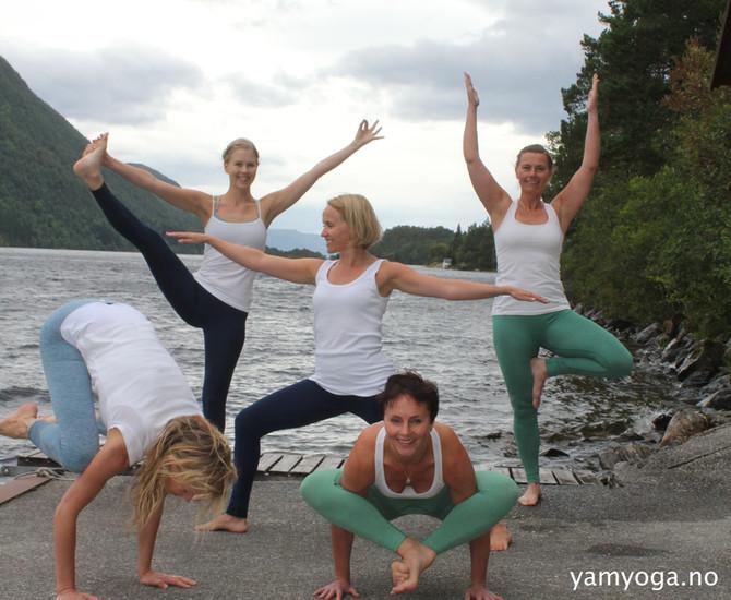 Inspirasjonsmøte med YamYoga-lærerne før semesterstart ♥