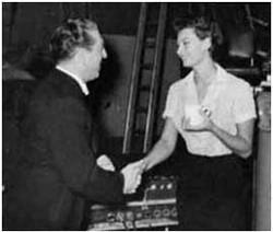 Mantovani with Sophia Loren