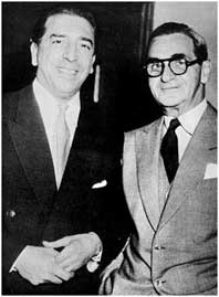 Mantovani with Irving Berlin