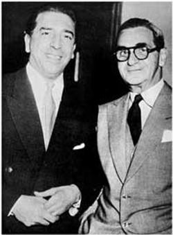 Mantovani with Irving Berlin